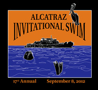 Promotional material for Alcatraz Swim